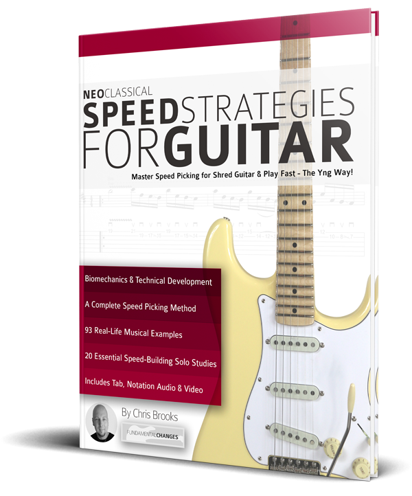 Neoclassical Speed Strategies for Guitar by Chris Brooks